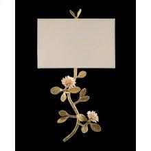 Quartz Flower Single-Light Wall Sconce