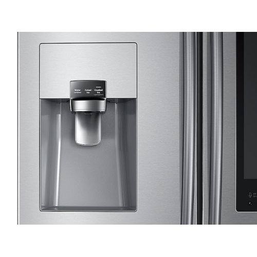 24 cu. ft. Family Hub 3-Door French Door Refrigerator in Stainless Steel