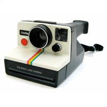 Polaroid OneStep SX-70 White/Rainbow Instant Camera