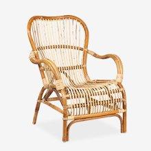 (LS) Delaney Rattan Arm Chair
