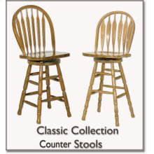 Arrowback Counter Stool