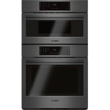 800 Series Combination Oven 30'' Black stainless steel HBL8742UC