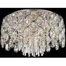 Flush Mount, Chrome/crystals, Type Jcd/g9 40wx9 Product Image