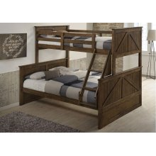 3015 Ashland Twin/Full Bed with Dresser & Mirror