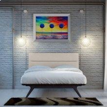 Addison 2 Piece Queen Bedroom Set in Black Beige