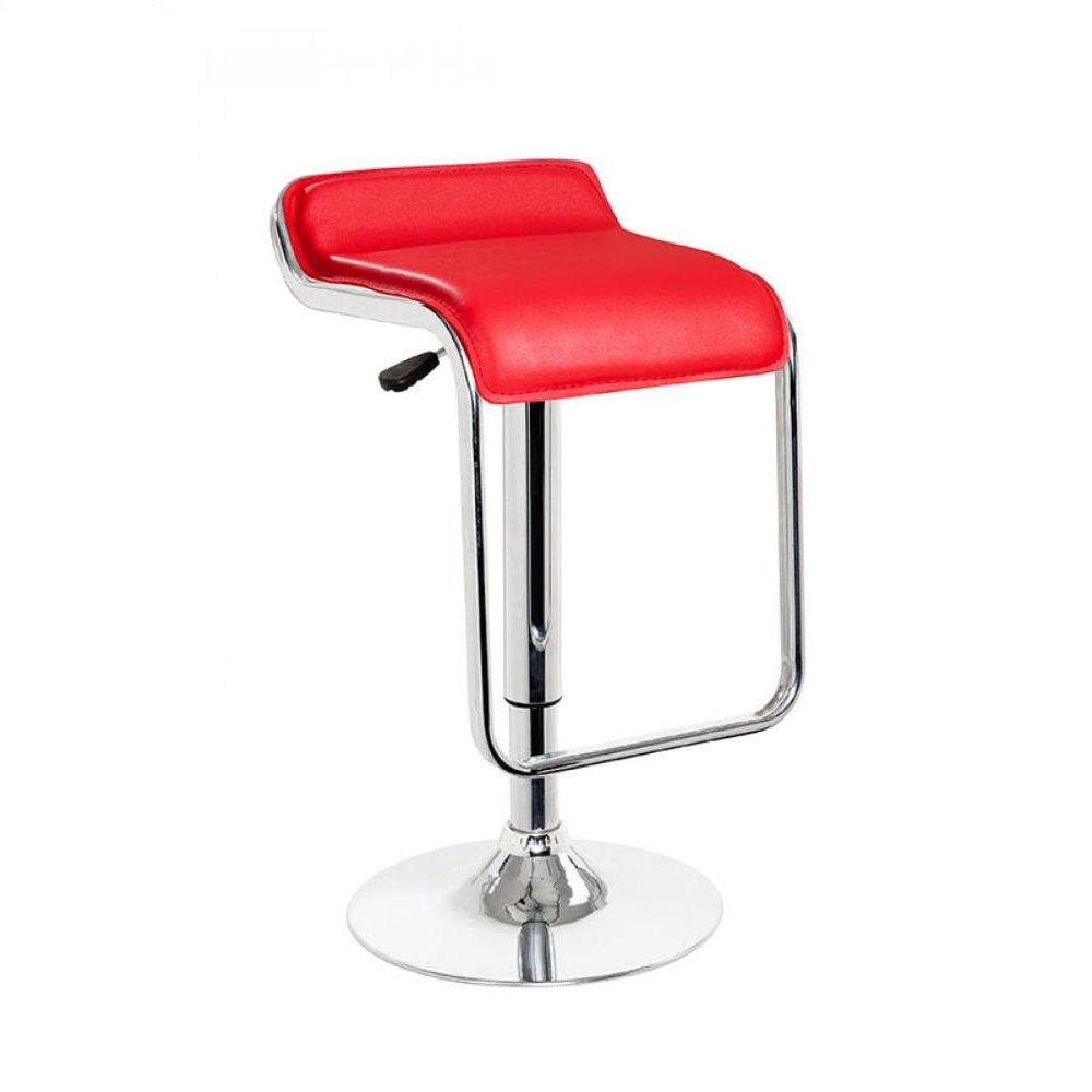 Modrest Mick - Contemporary Red Bar Stool