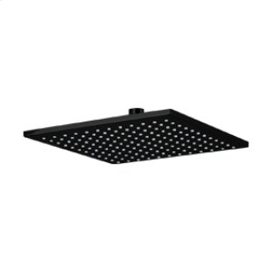 "10"" SQU Shower Rainhead - Black Product Image"