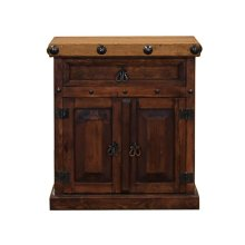 Nogal/Walnut Don Carlos Nightstand