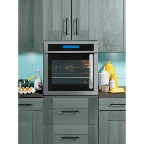 "24"" Single 2.0 Cu. Ft. Left-Swing True European"