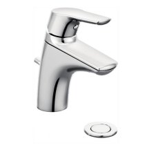 Method chrome one-handle bathroom faucet