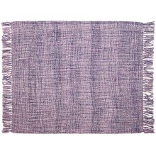 "Throw T1123 Lavender 50"" X 60"" Throw Blanket"