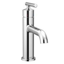 Gibson chrome one-handle bathroom faucet
