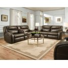 Double Reclining Console Sofa Product Image