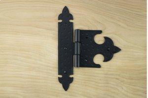 "Black 7"" Gate Strap Hinge 566555A Product Image"