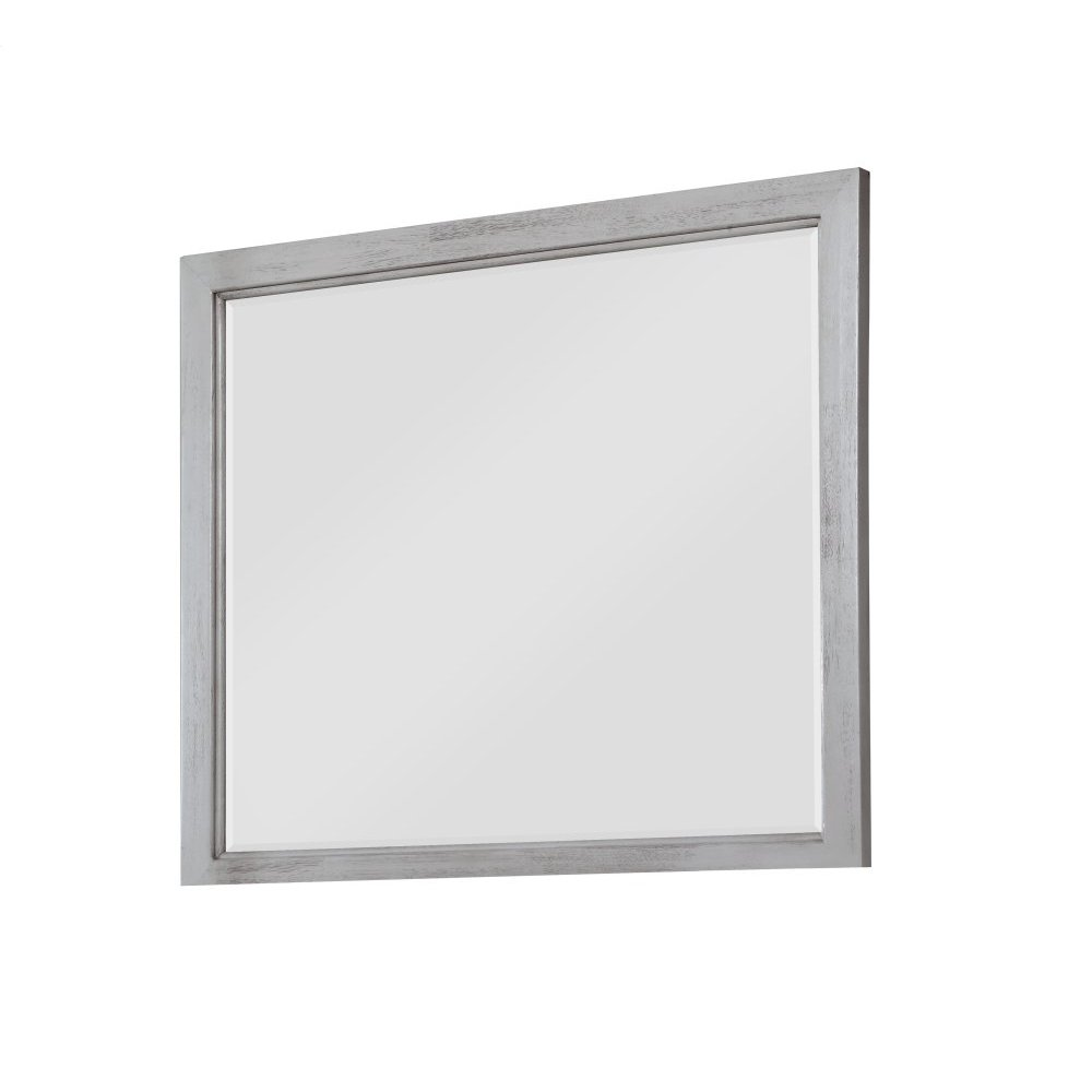 Emerald Home B527-24 Warwick II Mirror, Light Gray