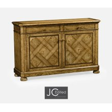 Rectangular Light Brown Chestnut Sideboard