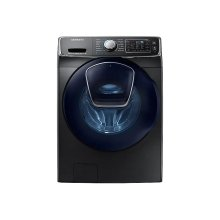 4.5 cu. ft. AddWash Front Load Washer in Black Stainless Steel