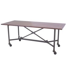Base Only Trestle Dining Table