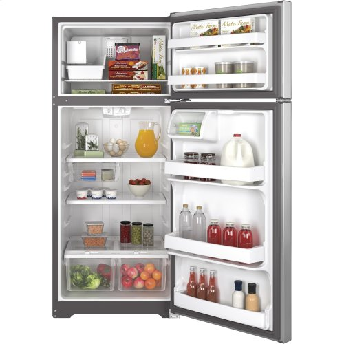 GE® ENERGY STAR® 17.5 Cu. Ft. Top-Freezer Refrigerator-LOW LOW in the warehouse