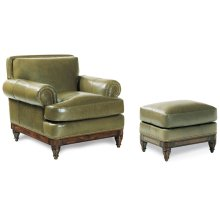 Robinson Chair and Ottoman