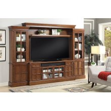CHURCHILL 4 piece 72 in. Entertainment Wall