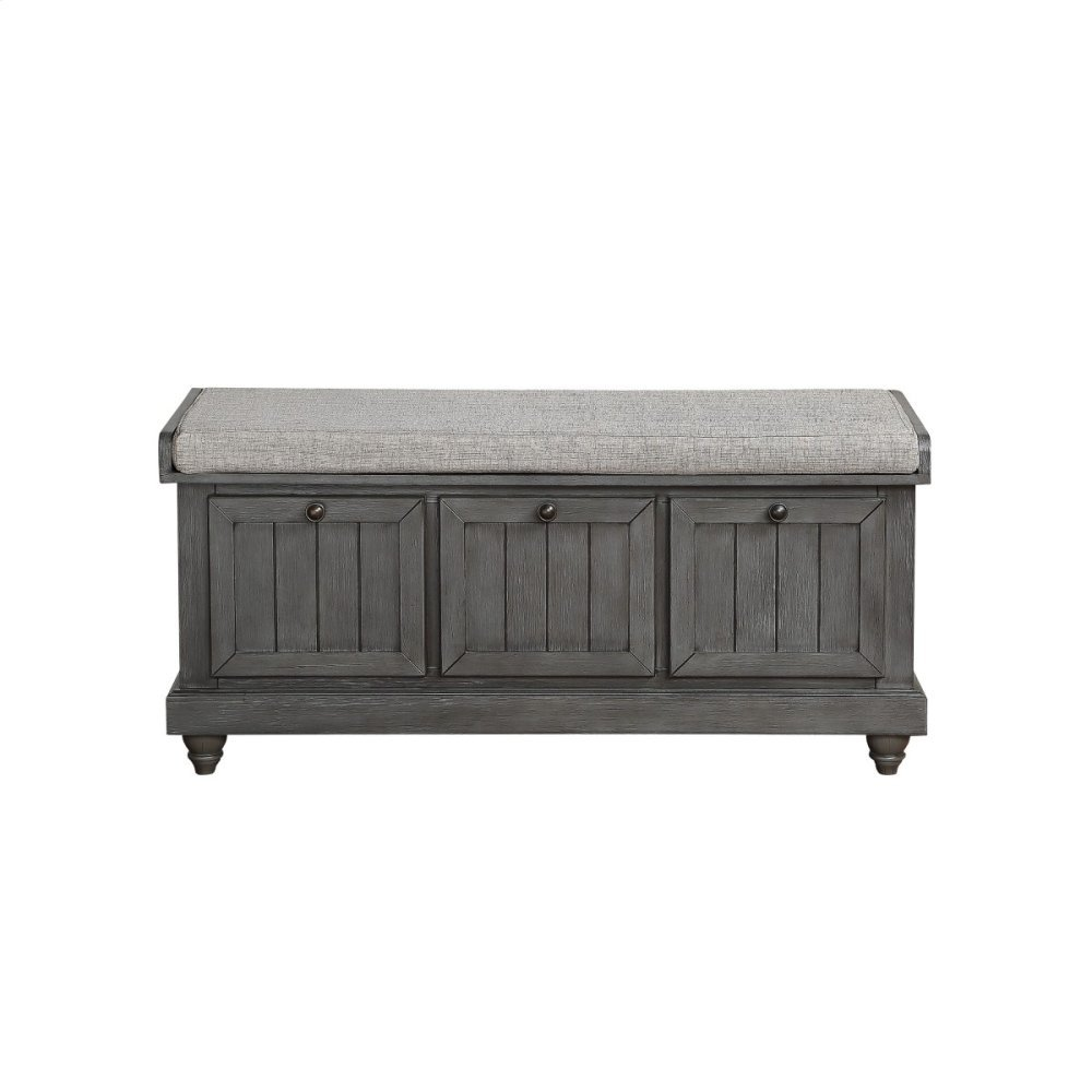 Bench, Dark Gray Finish