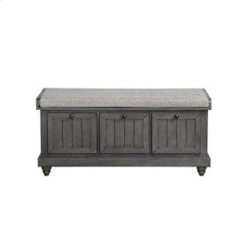 Bench, Dark Gray Finish