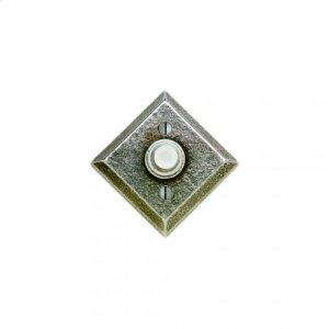 Diamond Doorbell Button Silicon Bronze Brushed Product Image