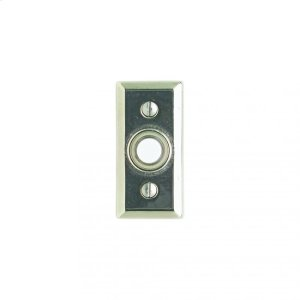 Rectangular Doorbell Button Silicon Bronze Brushed Product Image