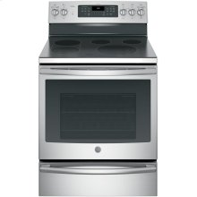 "GE Profile™ 30"" Smart Free-Standing Electric Convection Range"
