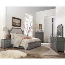 Bella Grigio - Mirror - Chipped Gray Finish