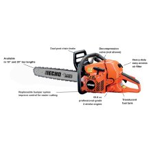 ECHO CS-590 Timber Wolf 59.8cc Professional-Grade Chain Saw