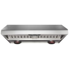 Professional Range Hood with Warming Lights