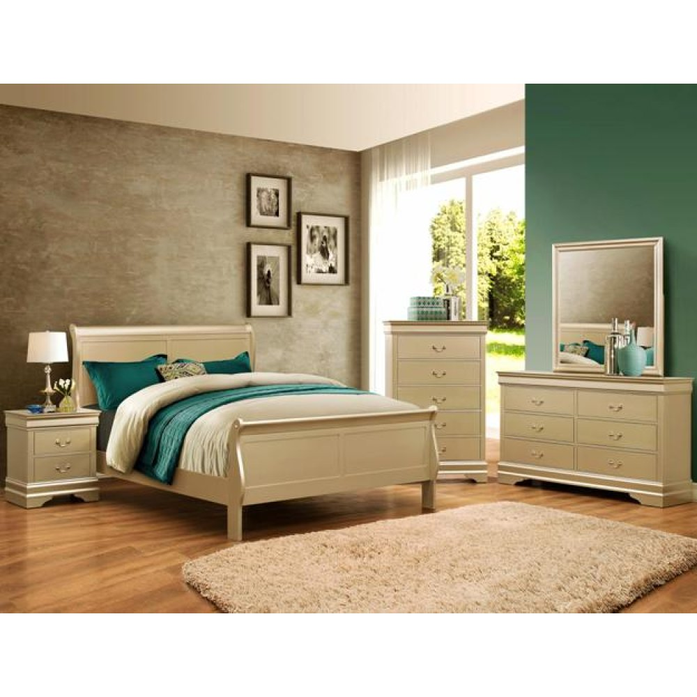 Louis Philip Queen Bedroom Set