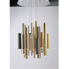 Flute LED 29-Light Pendant