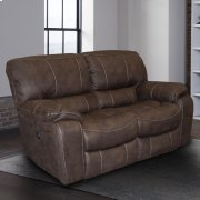 JUPITER - DARK KAHLUA Manual Loveseat Product Image