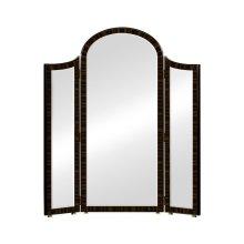Triple Full Length Art Deco Macassar Ebony High Lustre Mirror