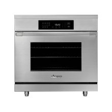 "36"" Heritage Induction Pro Range, Silver Stainless Steel"