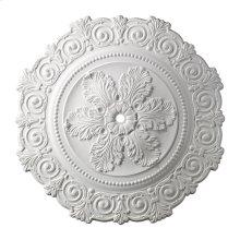 Marietta Medallion 33 Inch in White Finish