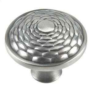 Mandalay Round Knob 1 5/16 Inch - Brushed Nickel Product Image