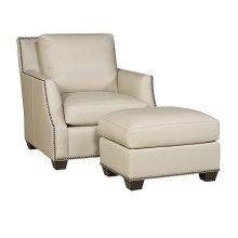 Santiago Leather Chair, Santiago Leather Ottoman