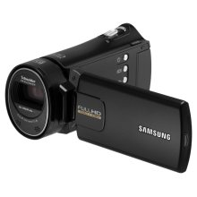 H300 Long Zoom Compact Full HD Camcorder (Black)