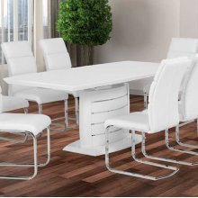 "Expandable Table Expandable Dining Table Grey Lacquer and Chrome Stripes. Add To Wishlist Product Added! Browse Wishlist the Product Is Already In the Wishlist! Browse Wishlist Compare Sku: Ou-45 Wh Categories: Dining Room , Dining Tables #wpp-buttons Img { Padding-right: 5px; Display: Inline; } #wpp-buttons A { Text-decoration: None; Border-bottom: None; } /* Woocommerce Pdf & Print 1.5.0 */ Share This Product Description Additional Information Description Lacquer and Chrome. Additional Information Meas 63""/79""x35""x30"" Material Lacquer and Chrome. Packing Info Boxes: 1/3 Box Meas: 66""x38""x8"" Weight Lb: 100 Ft3: 11.61 ---- Boxes: 2/3 Box Meas: 33""x24""x12"" Weight Lb: 35 Ft3: 5.5 ---- Boxes: 3/3 Box Meas: 37""x24""x3"" Weight Lb: 30 Ft3: 1.54 Related Products Add To Wishlist Product Added! Browse Wishlist the Product Is Already In the Wishlist! Browse Wishlist Compare Quick View A-2199 Dtwal A-2199 Dtwal A-2199 Dtwal A-2199 Dtwal Walnut Veneer Table"