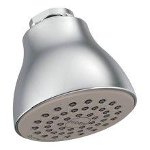 "Moen chrome one-function 2-1/2"" diameter spray head eco-performance showerhead"
