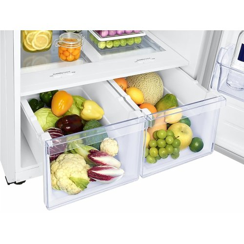21 cu. ft. Top Freezer Refrigerator with FlexZone and Ice Maker in White