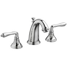 Ashbee Widespread Bathroom Faucet with Lever Handles - Polished Chrome