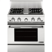 """30"""" Pro-Style® Gas Range with Convection, Pro-Style® Stainless Handle"""