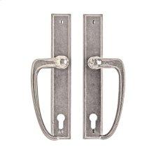 "Rectangular Entry Sliding Door Set - 1 3/4"" x 11"" Silicon Bronze Brushed"
