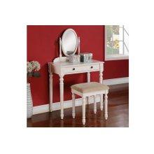 Vanity Set W/ Stool