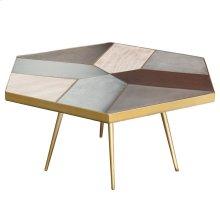 Giselle Coffee Table  Concrete Oak